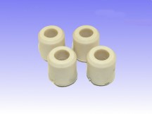 Anti Skid Rubbers - WHITE